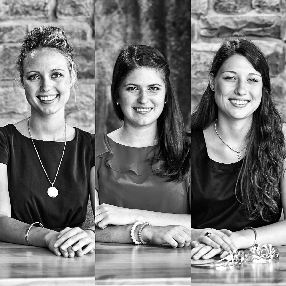 Die Kandidatinnen fuer die Wahl der Naheweinkoenigin 2014-2015