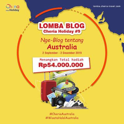 Lomba Blog Cheria Holiday #9 2019