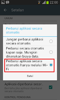 Cara Menghemat Paket Data di HP Android