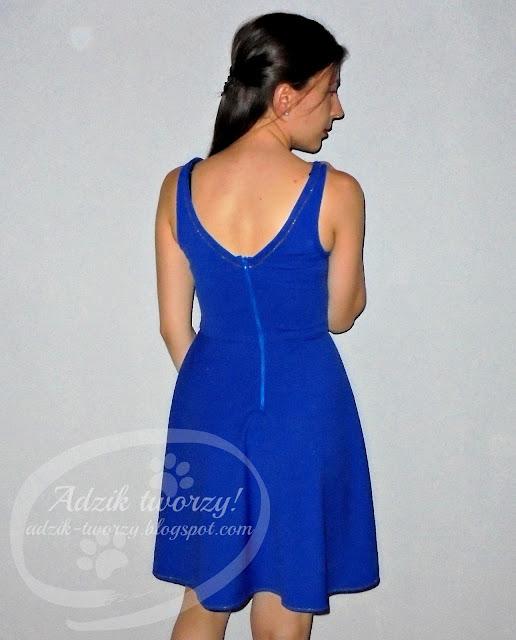 szycie sukienka