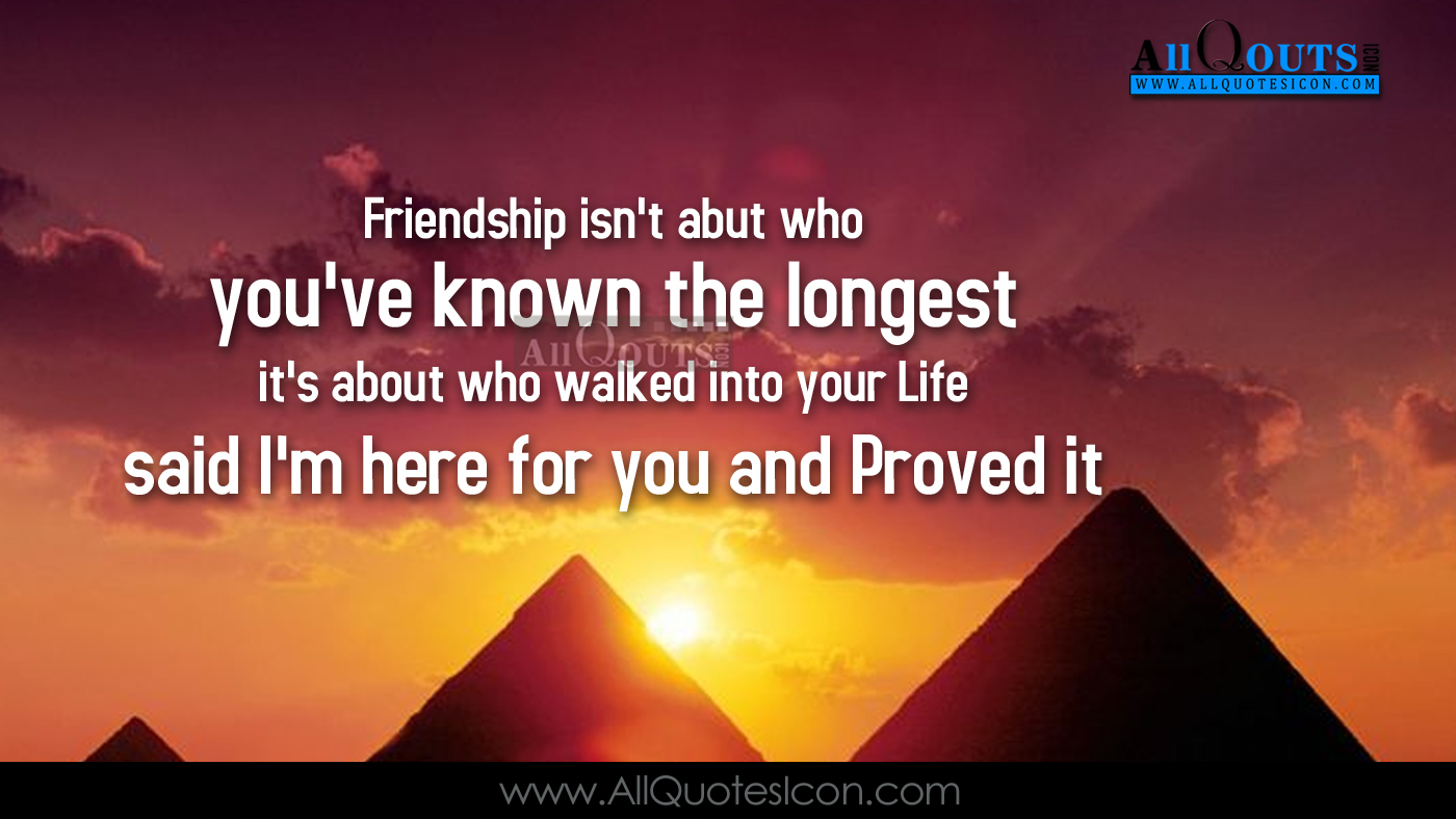 English Quotes About Friendship Quotes For Friends English Quotes English Friendship Quotesgram.