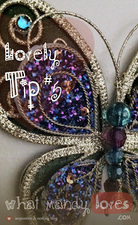 Lovely Tip #4: Wall Ornament to Cover Dings via www.whatmandyloves.com