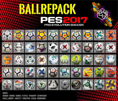 PES 2017 Ballpack Repack by AKC_47