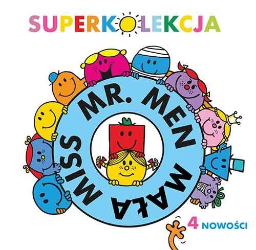 MR Man i Mała Mis- książeczki z poczuciem humoru