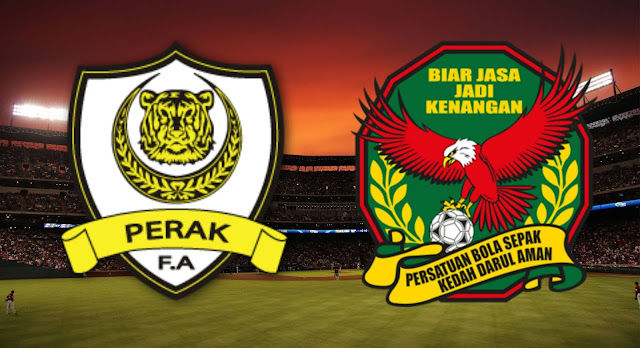 Live Streaming Perak vs Kedah 19.9.2018 Bolasepak SUKMA