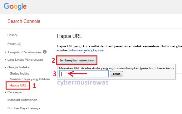 Cara mengatasi link error di webmaster (404 not found)
