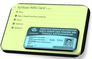3 Aplikasi Cetak Kartu NUPTK NRG dan NISN 2017