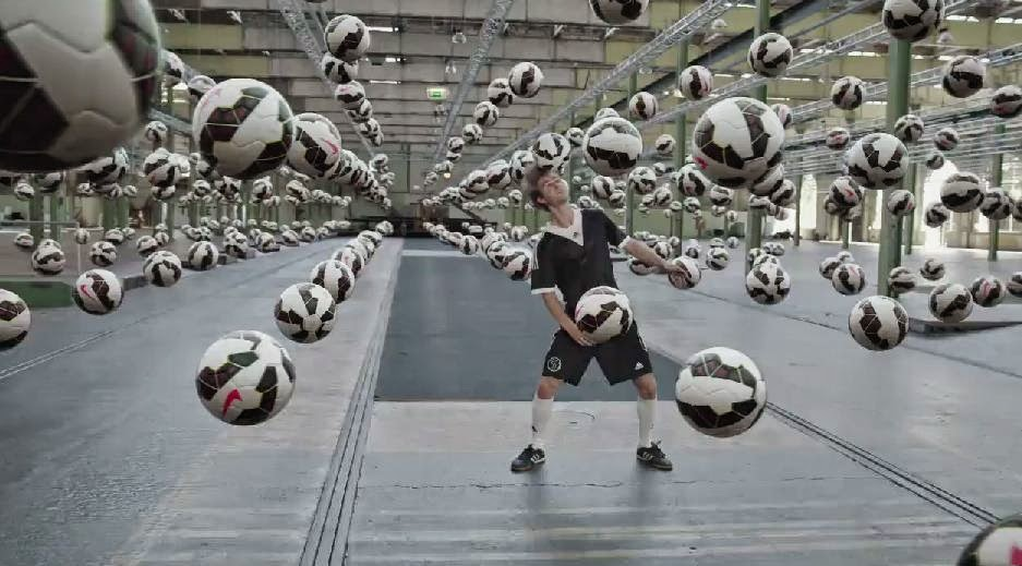 1 Million Soccer Balls - Danish Superliga's CG Soccer Explosion