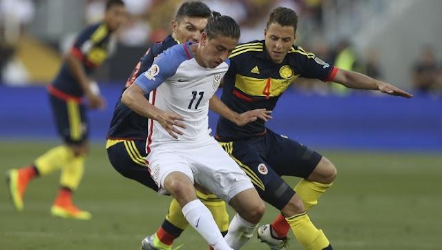 Estados Unidos vs Colombia en vivo Copa America Centenario