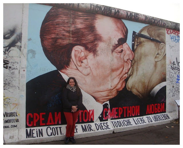 muro de Berlim na East Side Gallery