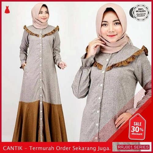 Jual RRJ001D206 Dress Samawa Dress Wanita Sk Terbaru Trendy BMGShop