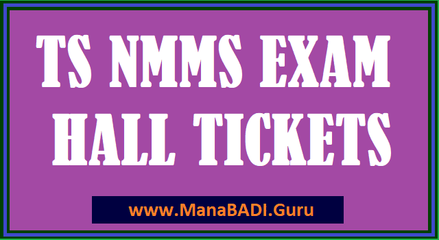 TS Halltickets, TS Scholarships, TS NMMS, National Means-cum-Merit Scholarship Scheme.
