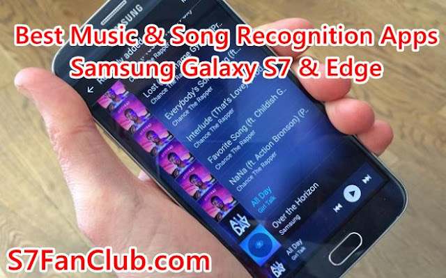 Best Music Song Lyrics Recognition Apps Samsung Galaxy S7 and Edge
