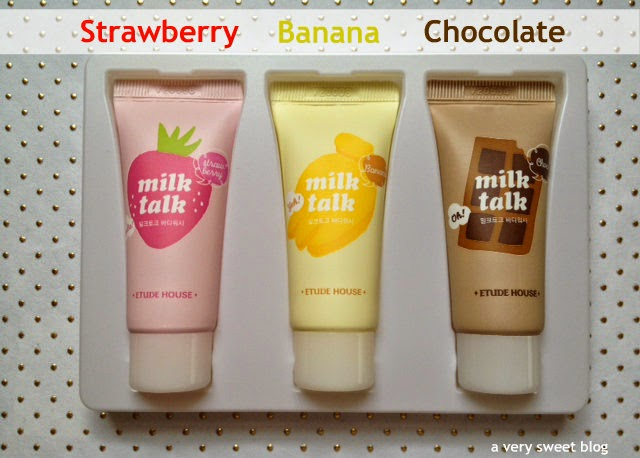 Etude House: Milk Talk Product Review   A Very Sweet Blog