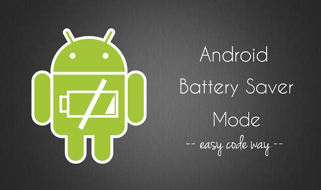 Image result for Battery Saver Mode