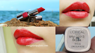 L'Oreal Paris Color Riche Moist Matte Lip Color Lincoln Rose