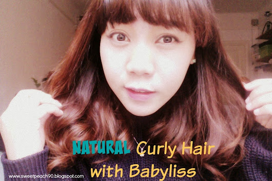 [BEAUTY TIPS] Natural Curly Hair with Babyliss