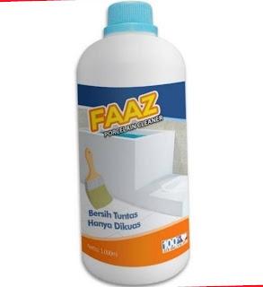 Faaz   Porcelain Cleaner  Mulai dari Rp 25.000,00, isi 250 ml