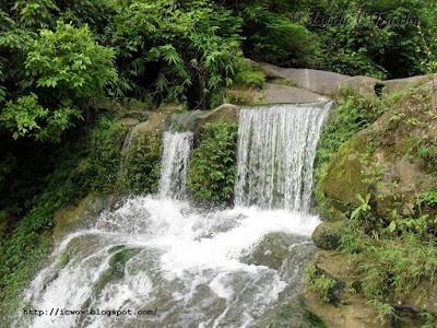 Suptadhara waterfall in Sitakunda