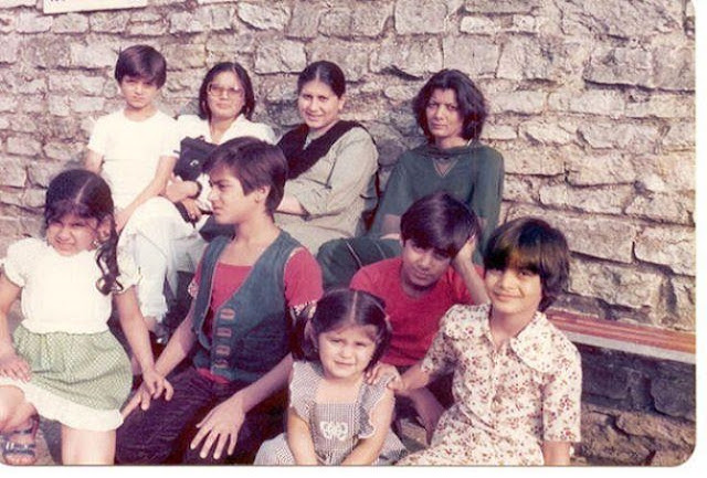 salmaan khan childhood picture