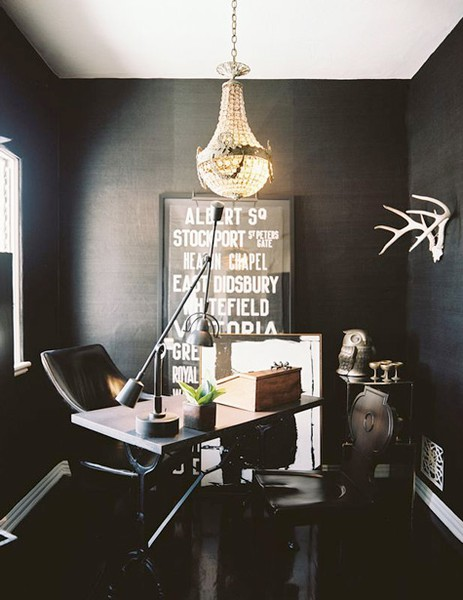 The Peak of Très Chic: Sultry Office Spaces