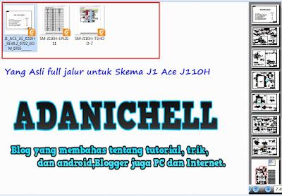 Yang Asli full jalur untuk Skema J1 Ace J110H