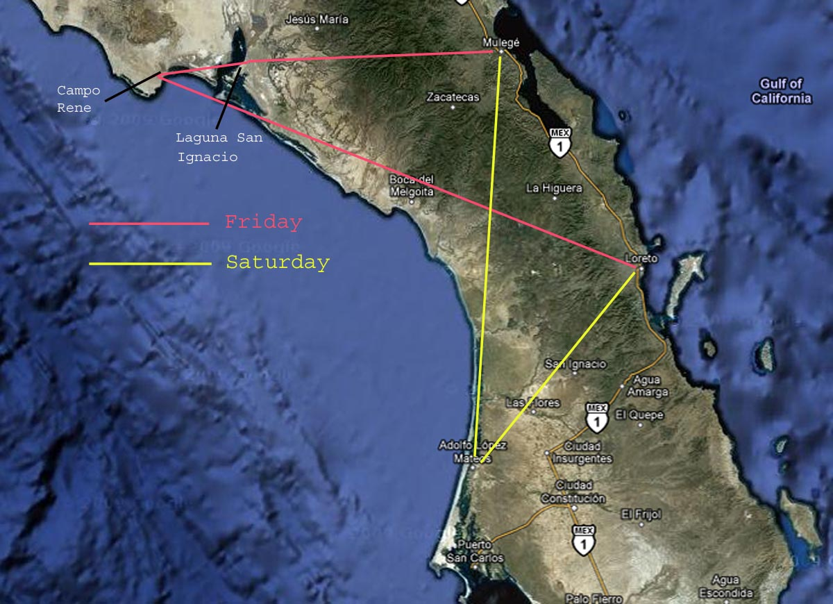 The Ketelsens!: Maps! Got Your Baja Maps Here!