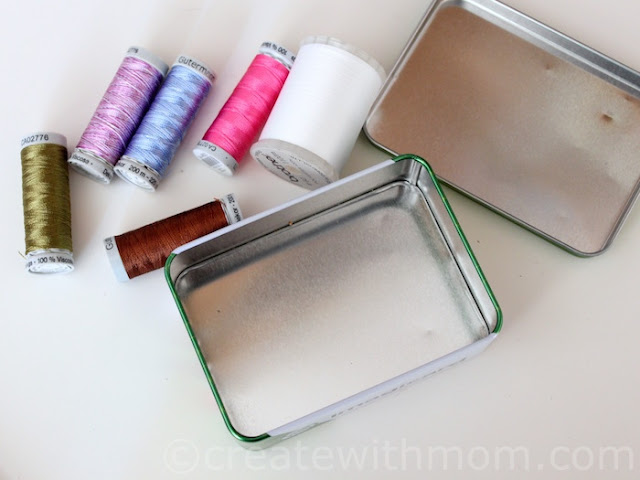 Seal-it Glitter Tape Decorated Tins