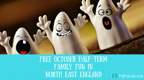 Free October Half-Term Family Fun in North East England