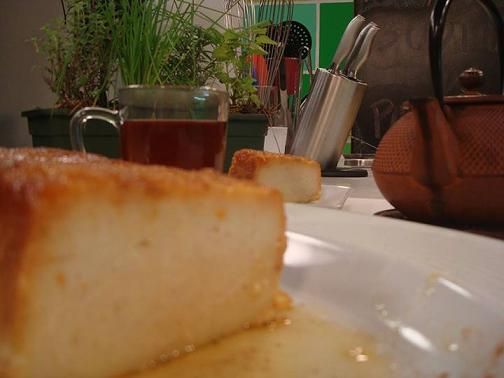Budin de pan light