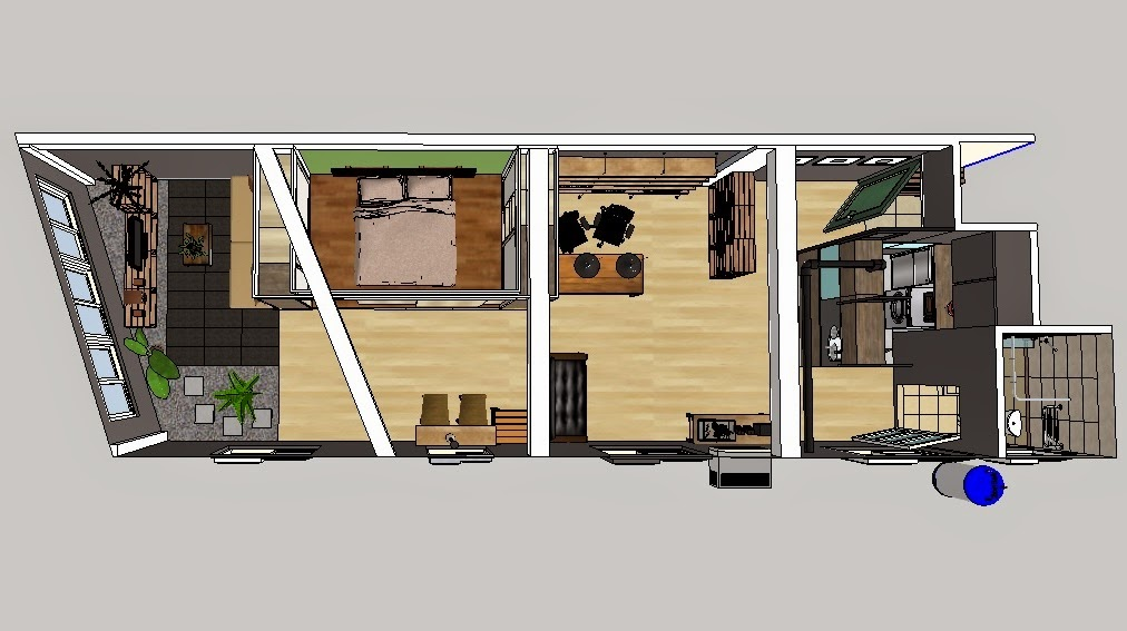 家,是內心的呈現: 把棧板搬進家裡當沙發