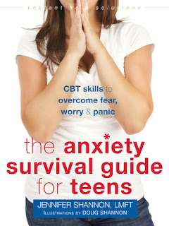 The Anxiety Survival Guide for Teens by Jennifer Shannon