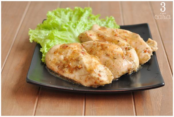 receita prática frango