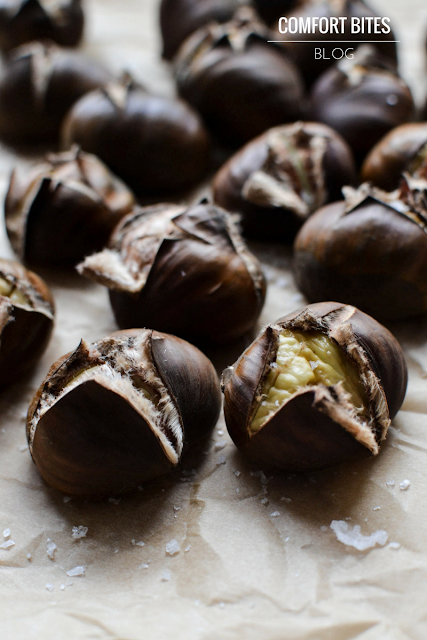 Roasted Sea Salted Chestnuts - paleo