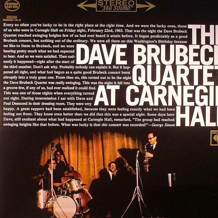 Dave Brubeck Quartet Take Five Unsquare Dance