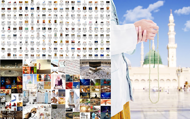 مجموعة صور اسلامية عالية عالية الجودة للتصميمات الاسلامية وتصميمات رمضان