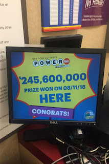 Powerball se fueron los $247 Millones