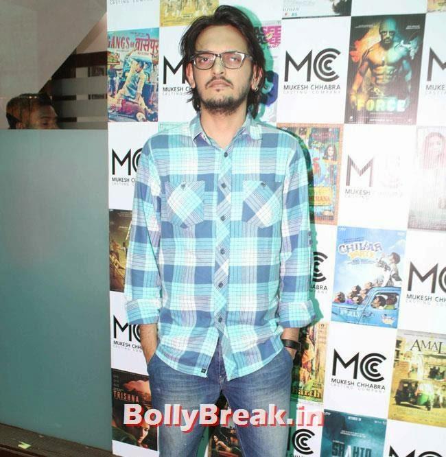 Vishesh Bhatt, Shradha  & Aditi at Mukesh Chhabra Casting Studio Launch