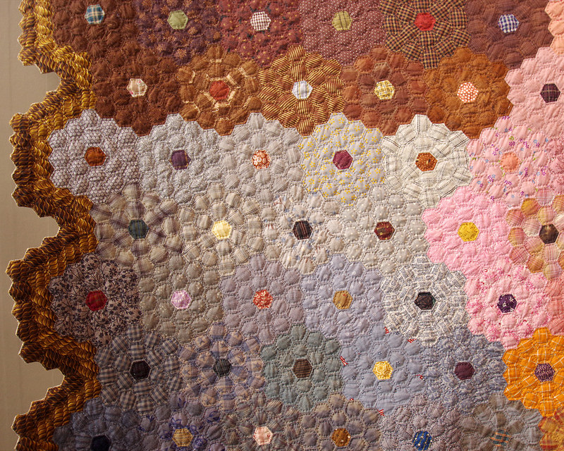 Tokyo International Quilt Festival 2018 | Milky Way by Nakano - Encouragement Award | © Red Pepper Quilts 2018
