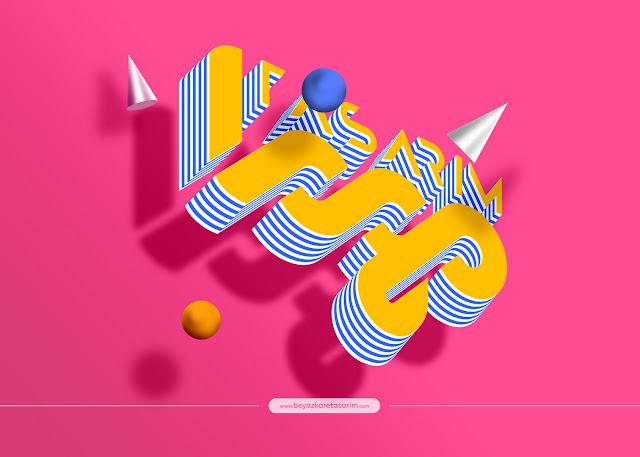 3D logo tasarımı eğlenceli