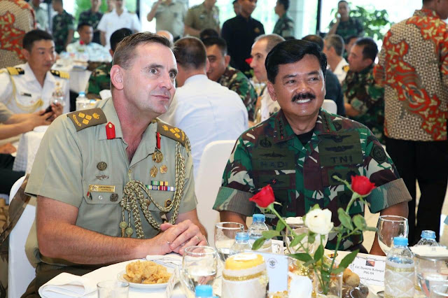 Hadapi Perkembangan Dunia, TNI Tingkatkan Hubungan Kerjasama Internasional