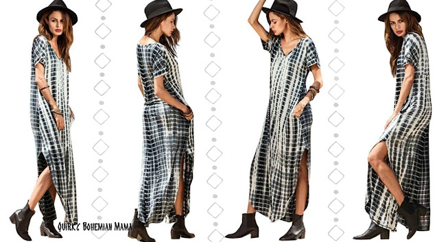 Bohemian Summer Dresses... With POCKETS!