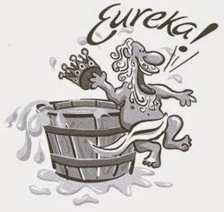 El golpe de suerte de Arquímedes y su Eureka