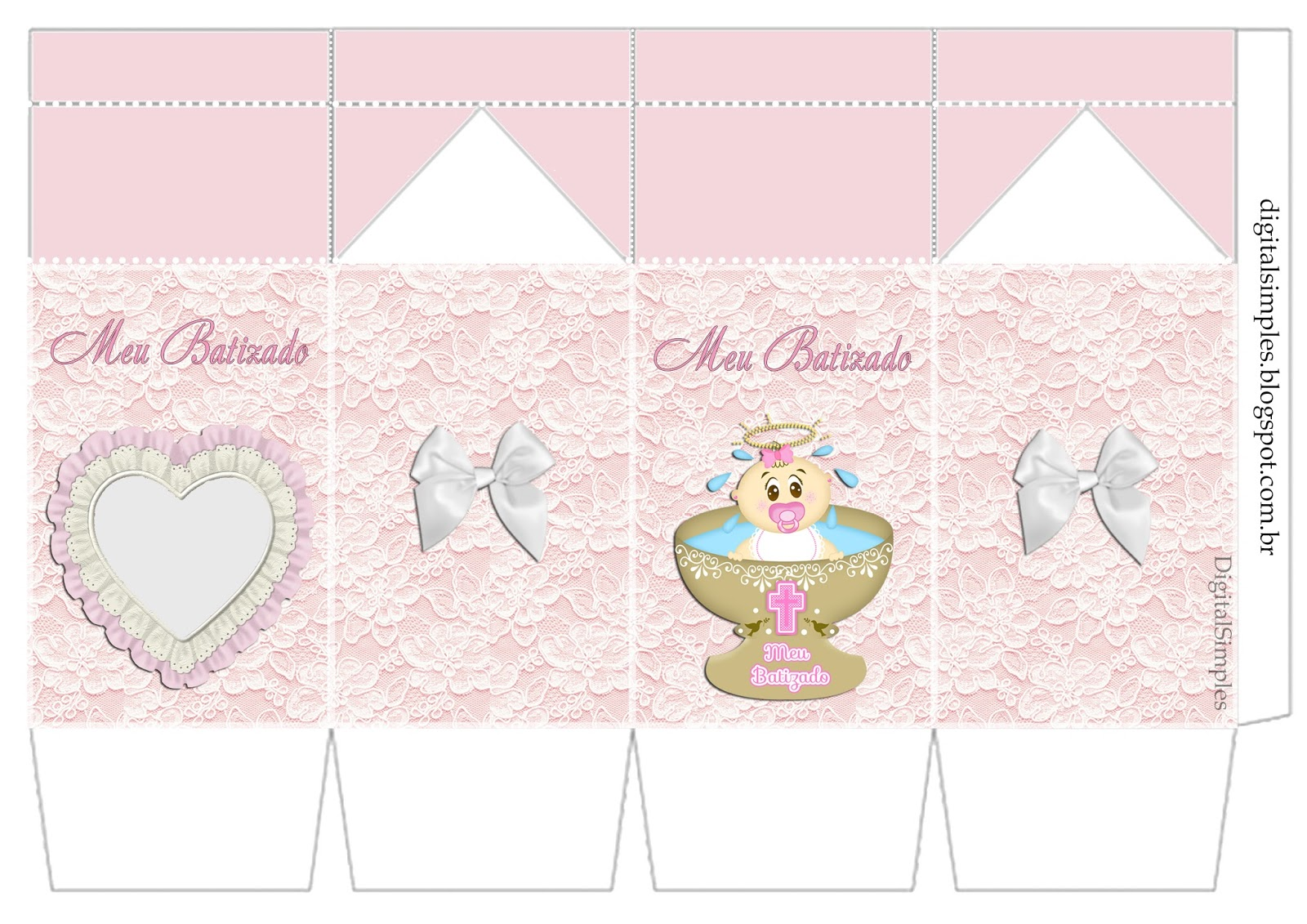 sweet girl baptism  free printable kit