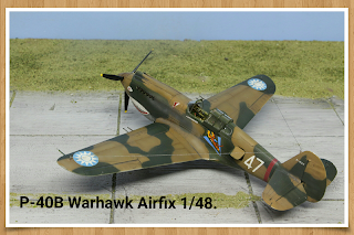 Airfix P40 B
