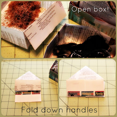 life hack paper boxes