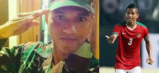 Abduh Lestaluhu. Sersan TNI dari Keluarga Berdarah Pesepakbola