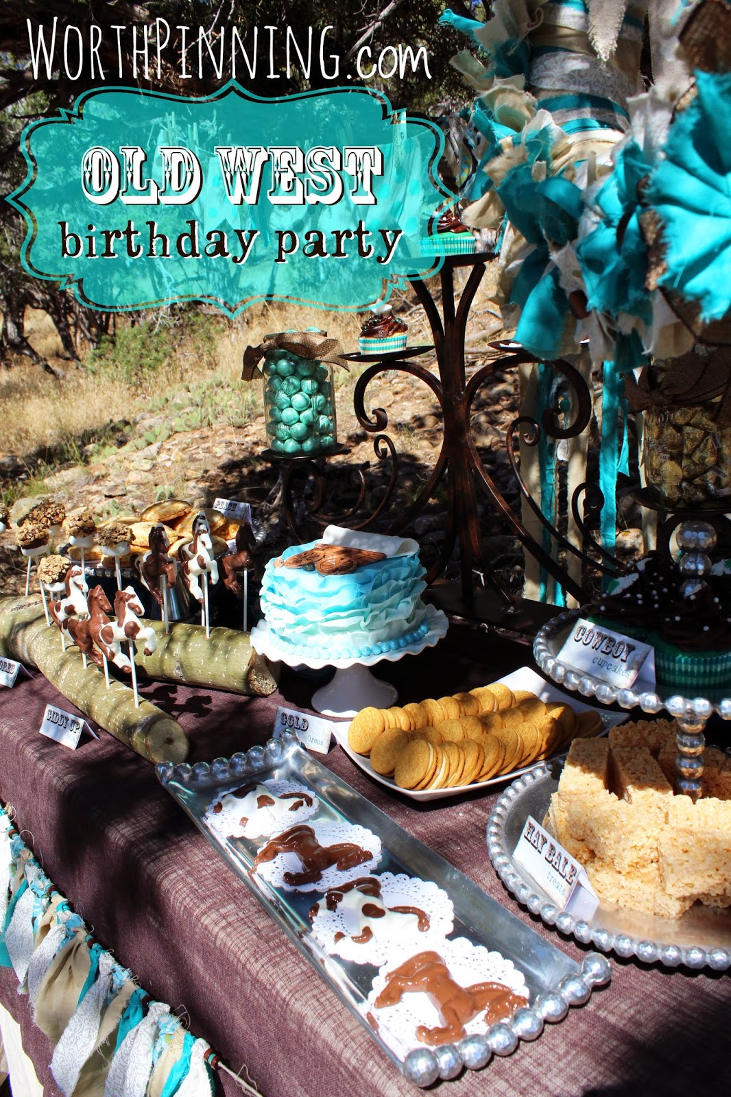Worth Pinning Old West Birthday Party