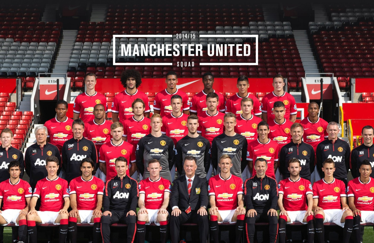 Manchester United Football Club Group Latest HD Wallpaper 2015 | Sports HD Wallpapers