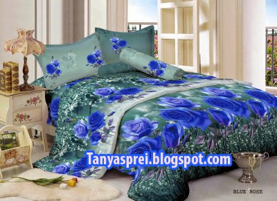 Kintakun luxury motif blue rose